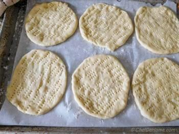Step for Recipe - Quick Oven Baked Naan Bread