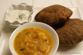 Step for Recipe - Fried Buckwheat Puffs