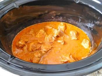 Step for Recipe - Restaurant Style Butter Chicken in Slow Cooker