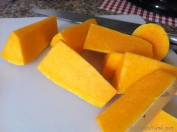 Step for Recipe - Butternut Squash Soup