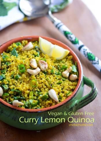 Step for Recipe - Curry Lemon Quinoa (Rice)