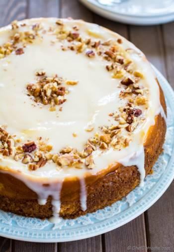 Step for Recipe - Carrot Cake Cheesecake