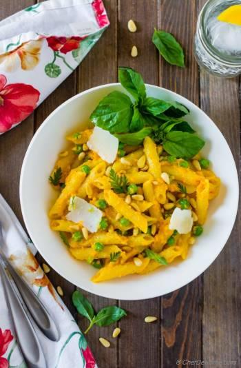 Step for Recipe - Carrot Pesto Sauce Pasta