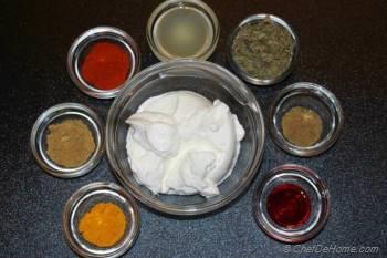 Step for Recipe - Chicken Tikka
