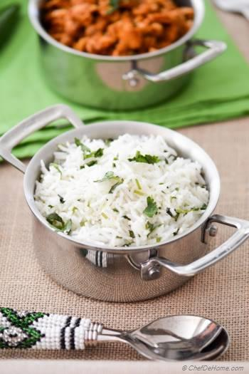 Step for Recipe - Easy Cilantro Lime Rice