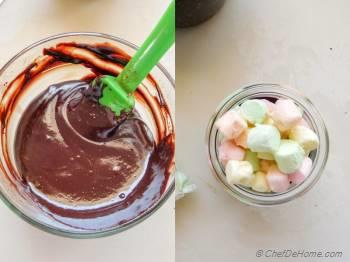 Step for Recipe - Mexican Chocolate S'mores with Churros
