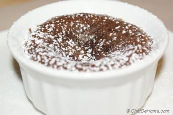 Step for Recipe - Chocolate Spoon Cake