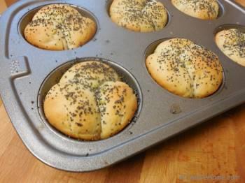 Step for Recipe - Lime Scented Cloverleaf Dinner Rolls