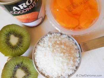 Step for Recipe - Lightened Up Sweet Coconut Rice