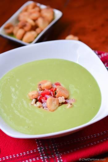 Step for Recipe - Chilled Avocado and Roasted Corn Soup