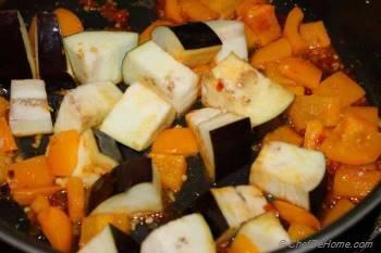 Step for Recipe - Stir Fried Eggplant and Tofu Recipe