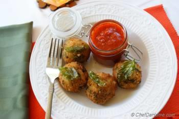Step for Recipe - Italian Rice Balls