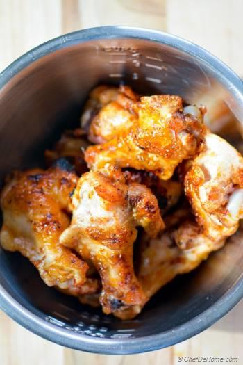 Step for Recipe - Sweet and Spicy Mango Harissa Chicken Wings