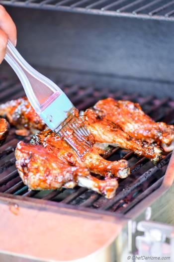 Step for Recipe - BBQ Chicken Drumsticks with Honey-Chipotle BBQ Sauce