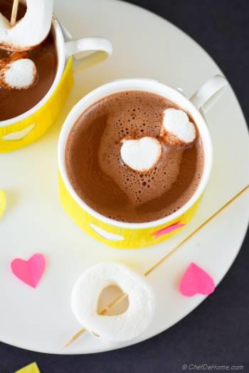 Step for Recipe - Skinny Hot Cocoa