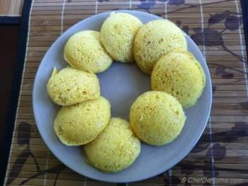 Step for Recipe - Instant Dhokla