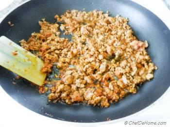 Step for Recipe - Restaurant-Style Indian Keema Naan - Stuffed Lamb Bread