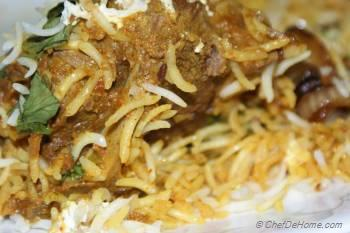 Step for Recipe - Lamb Biryani