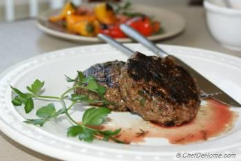 Step for Recipe - World's Easiest Grilled Lamb Burger