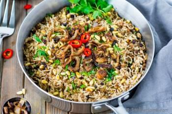 Step for Recipe - Mujaddara - Spiced Lentils and Rice