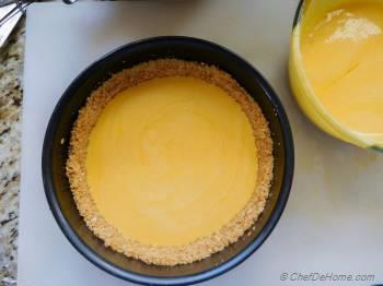 Step for Recipe - Mango Cheesecake