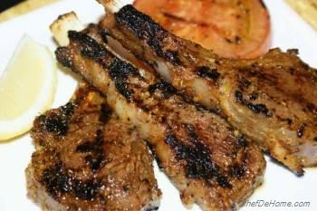 Step for Recipe - Grilled Lamb Rib chops