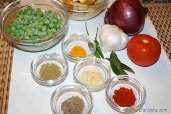 Step for Recipe - Masala Matar