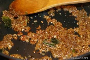 Step for Recipe - Matar Paneer
