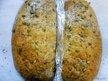 Step for Recipe - Multi Seeds Molasses Wheat Bread with Coconut Oil