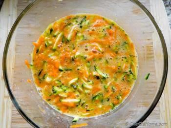 Step for Recipe - Zucchini Carrot Muffins