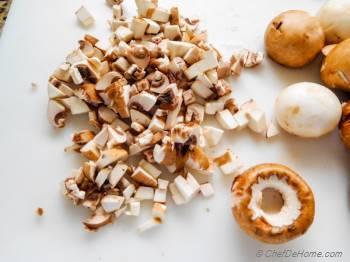 Step for Recipe - Mushroom Bolognese