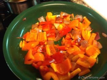 Step for Recipe - Indo-Chinese Mushroom Chili