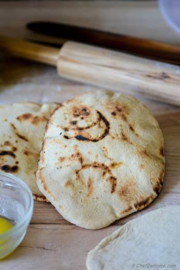 Step for Recipe - Homemade Indian Butter Naan