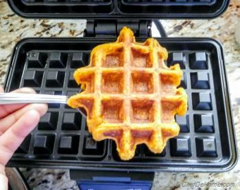 Step for Recipe - Healthy Sweet Potato Oats Waffles