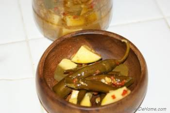 Step for Recipe - Raw Mango and Serrano Pepper Pickle