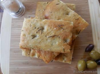 Step for Recipe - Basic Rosemary Focaccia Bread