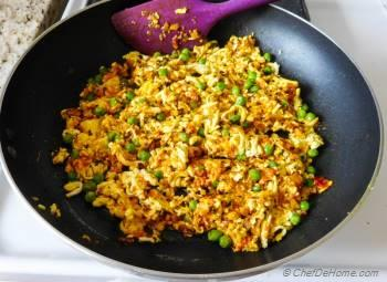 Step for Recipe - Indian Punjabi Paneer Bhurji