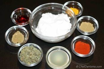 Step for Recipe - Paneer Tikka