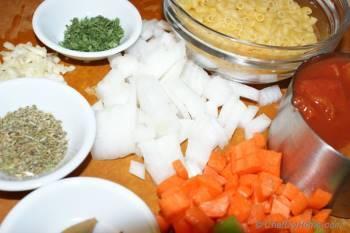 Step for Recipe - Pasta Fagioli