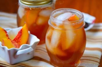 Step for Recipe - Refreshing Summer Peach Ice Tea