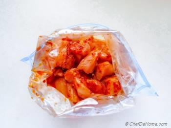 Step for Recipe - Firecracker Popcorn Chicken