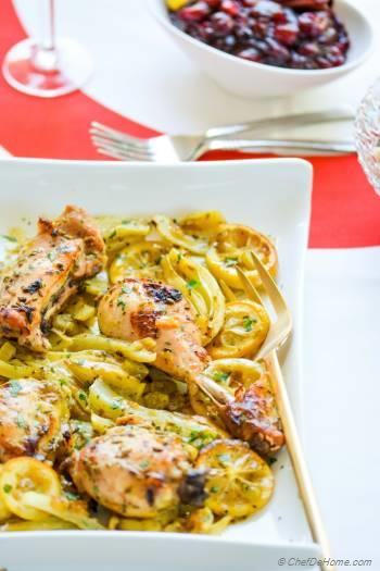 Step for Recipe - Roasted Chicken alla Limoncello