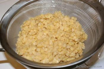 Step for Recipe - Roasted Garlic and Pink Lentil Dip