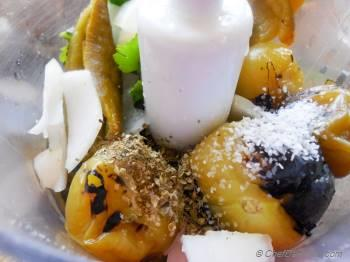 Step for Recipe - Fire Roasted Tomatillo Salsa - My other Chipotle Mexican Grill Favorite