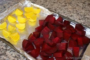 Step for Recipe - Roasted Beets with Goat Cheese