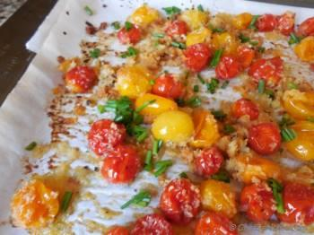 Step for Recipe - Oven Roasted Cherry Tomatoes