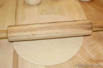 Step for Recipe - Chapati