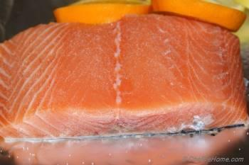 Step for Recipe - Salmon with Citrus and Thyme