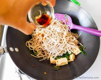 Step for Recipe - Buckwheat Soba Noodles with Coconut-Lime Tofu