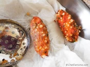 Step for Recipe - Vrat Ki Shakarkandi Kuttu Sago Tikki   Buckwheat, Sweet Potatoes and Tapioca Croquettes